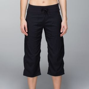 Lululemon Studio Crop Unlined black